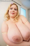 Marla large boobs lingerie  blond with huge tits and phat bottom is excited for you. Blond with huge tits and phat butt is lascivious for you