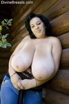 Bianca bbw large boobs hike  milf with giant k cup breasts is out in public and takes her top off. Milf with giant K cup boobs is out in public and takes her top off