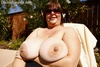 Josie plumper milf bbw tits  mature milf with huge boobs outside in the sun. Mature milf with huge breasts outside in the sun