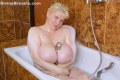 Bath time with busty june  get warm and wet with lascivious june kelly in the bubble bath  this hot blonde with big boobs will welcome you with open arms and legs open as you get in to the tub to rub cock sucking and fuck. Get warm and wet with libidinous June Kelly in the bubble bath. This hot blonde with big breasts will welcome you with open arms and legs open as you get in to the tub to rub, sucks and fuck.