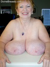Valerie granny huge breasts  older lady with huge macromastia saggy boobs flashing you. Older lady with huge macromastia saggy boobs flashing you